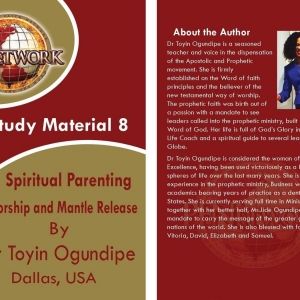 Spiritual Parenting, Mentorship, and Mantle Release